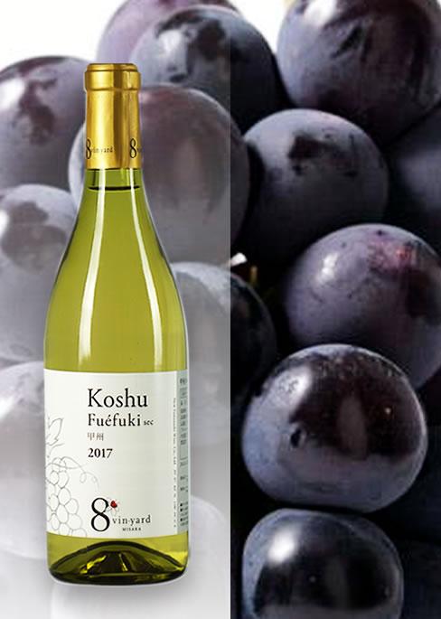 葡萄・桃とワインのギフト